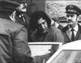 Leonard Peltier has been in prison since his arrest, shown here, in 1976.