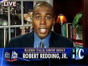 Redding has been a regular guest on Fox News and NPR.