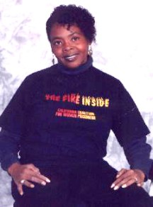 """Charisse Shumate, a founding member of the California Coalition for Women Prisoners, died fighting for the rights of all prisoners. For Freedom Archives' documentary about her, """"Fighting for Our Lives,"""" contact CCWP."""