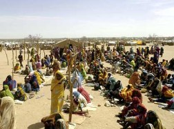 Providing humanitarian aid to refugees in Darfur is a large and profitable industry. - Photo: Reuters