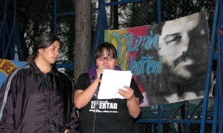 Mariana and Norma, who were raped at Atenco, have the courage to speak of their sexual torture and denounce it publicly, as they did Dec. 9 at a rally in solidarity with Mumia at the U.S. Embassy.