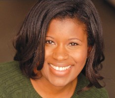 "Yasmine Nefertiti Love plays the Lady in Yellow in ""Colored Girls."" She trained with the American Conservatory Theatre and recently acted in ""Much Ado About Nothing"" with the San Francisco Shakespeare Festival."