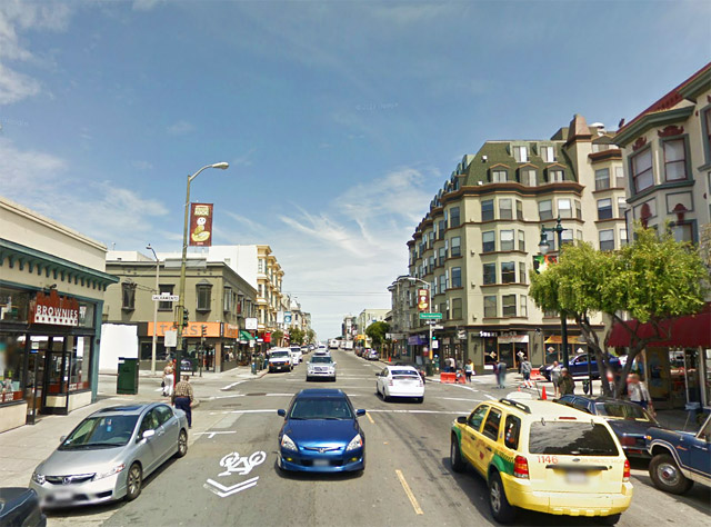 Polk Street as an example of a neighborhood commercial street