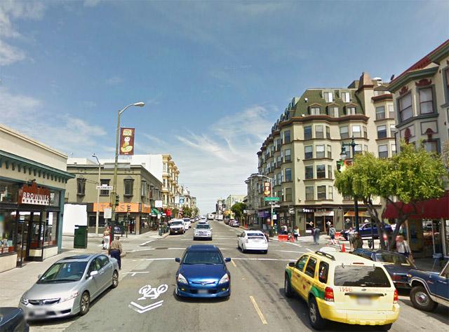 Polk Street as an example of a neighborhood commercial street