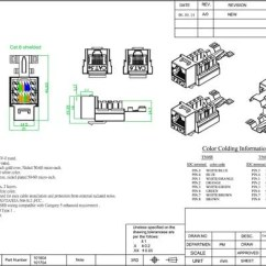 Rj11 Keystone Jack Wiring Diagram E36 Fuse Box Cat5 4 23 Tefolia De Rj45 Schematic Cat 6