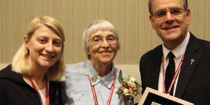Benedictine sister receives national award