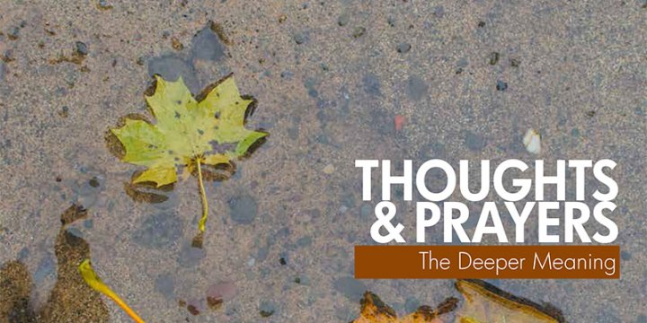 April 2019 Thoughts & Prayers: The Deeper Meaning and Pledge to Heal: Includes a Pastoral Letter from our Bishop