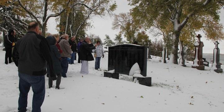 St. Joseph Parish dedicates cemetery monument