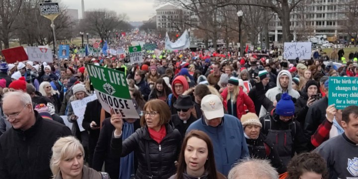 March for Life pilgrimage makes an impression