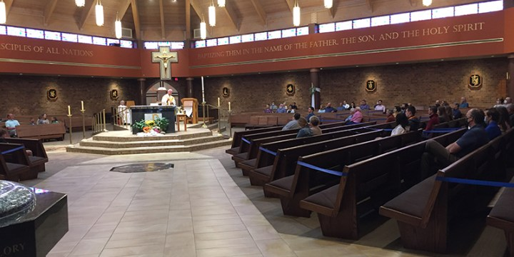 Parishes resume Masses after two months of closure