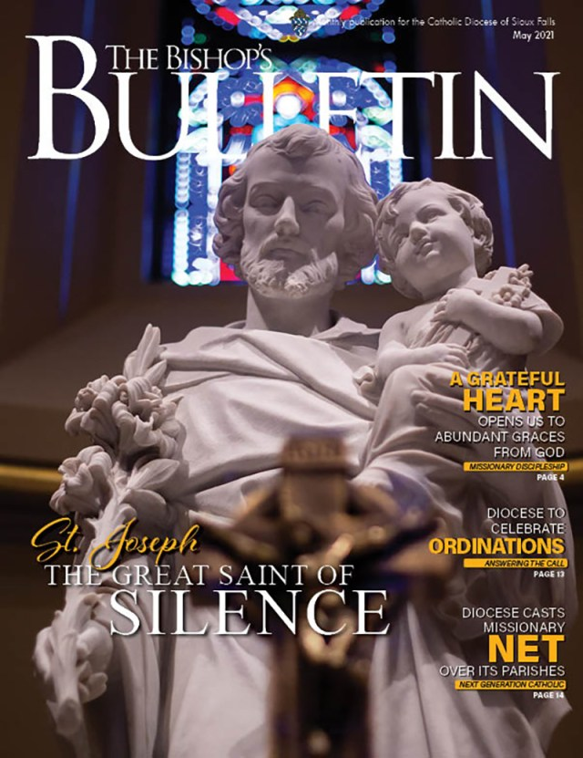 May 2021 St. Joseph: The great saint of silence