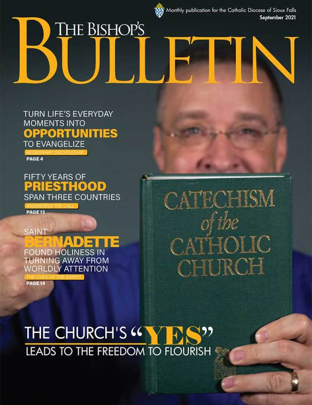 """September 2021 The Church's """"YES"""" leads to the freedom to flourish"""