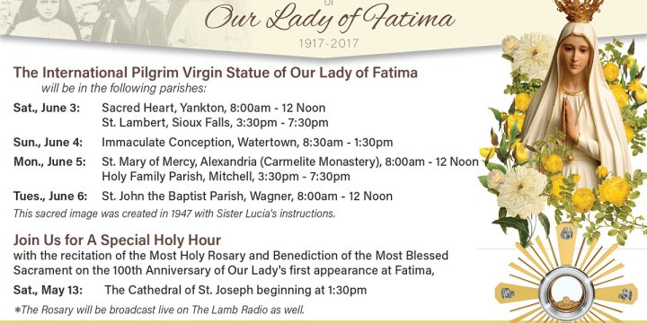 Centenary of the Apparitions of Our Lady of Fatima