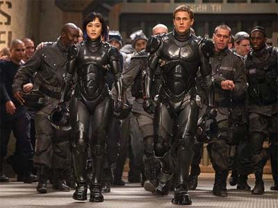 The Jaegers of Pacific Rim.