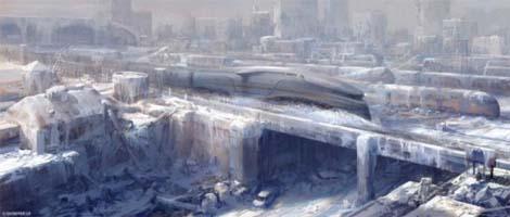 Snowpiercer scifi film.