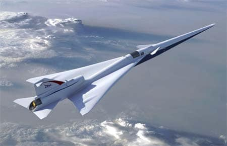 Supersonic X-Plane (now with extra whisper-mode).