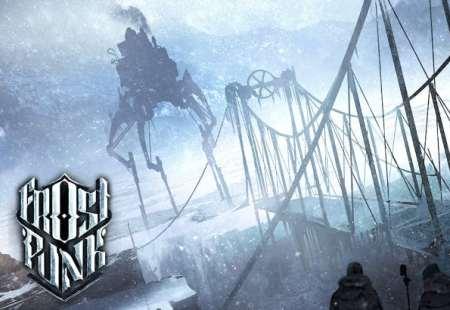 Frostpunk - the steampunk city-builder game.