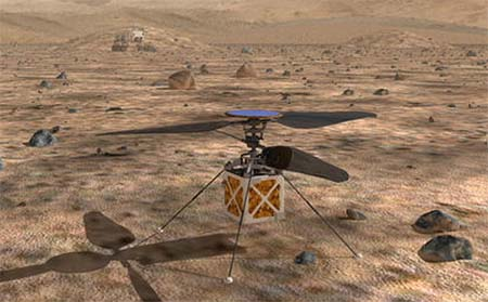 Mars loves helicopters, true.