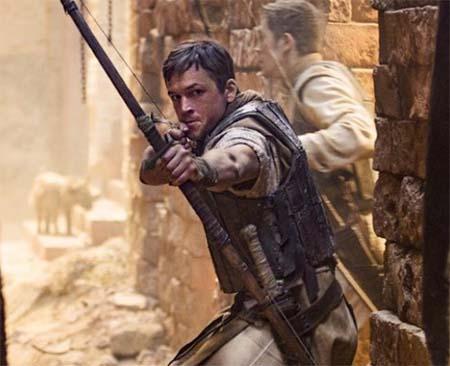 Robin Hood (2018) (trailer for the upcoming Taron Egerton version).