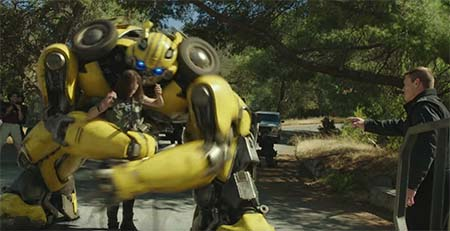 Bumblebee (Transformers spin-off trailer).