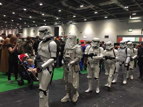 Stormtroopers at Comic-con London.