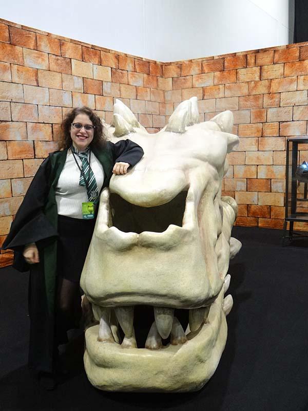 The Dragon's dead head.