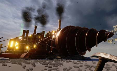 Volcanoids: are you a manic (steampunk) miner? (game trailer).