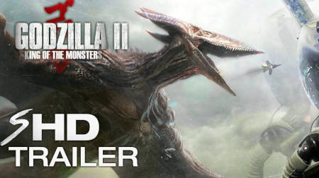 Godzilla 2: King Of The Monsters (second trailer).