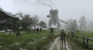 Iron Harvest (steampunk war-game: cinematic trailer).