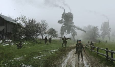 Iron Harvest - could be a bumper one (steampunk game news).