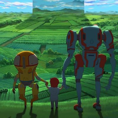 Eden (Netflix anime: trailer).