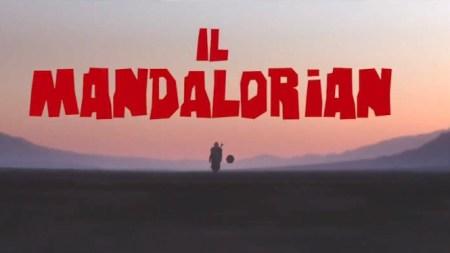 The Mandalorian goes Spaghetti Western (spoof trailer).