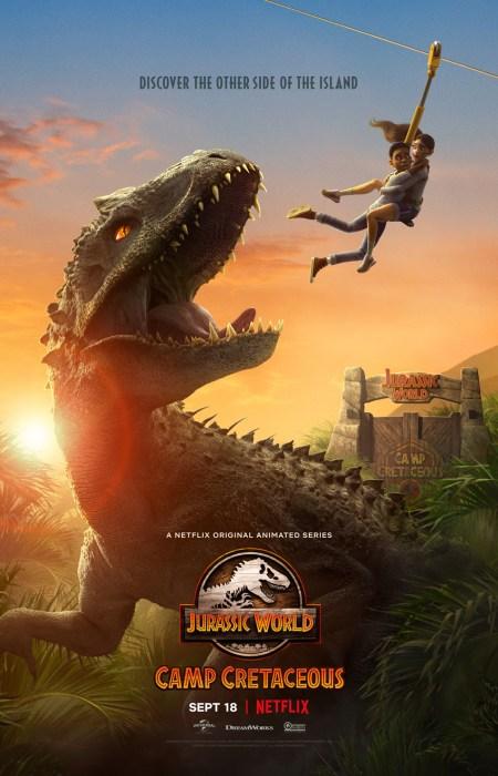 Jurassic World Camp Cretaceous (trailer: Netflix animated TV series).