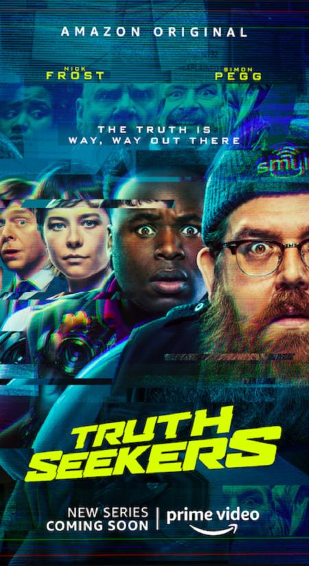 Truth Seekers (Amazon Prime TV series: trailer).