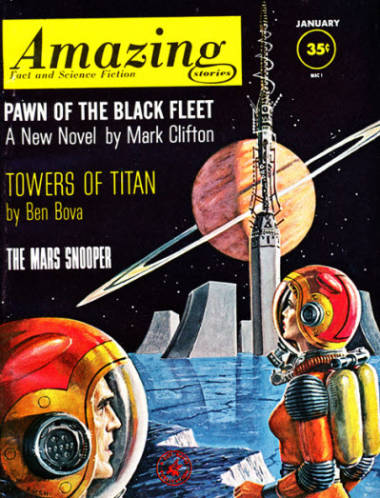 Ben Bova, American science fiction author legend, passes (RIP).