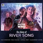 Doctor Who: The Diary Of River Song Series 8 by Alfie Shaw, Jonathan Morris, Tracy Ann Baines and James Goss (CD review).