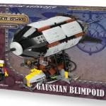Brickpunk, the new steampunk range from Hornby (model kit news).