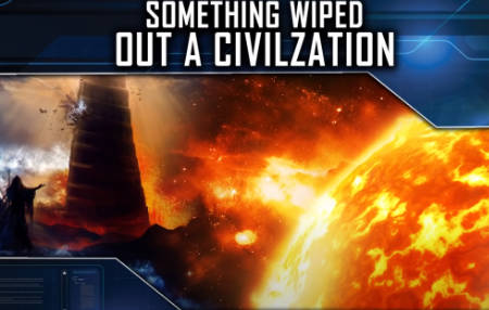 Were early civilisations wiped out by coronal mass ejections around 9700 BC? (video)