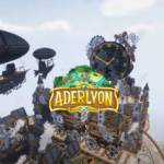 Steampunk City built in Minecraft: no extra charge for the airships (video).