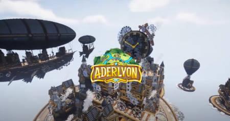 Steampunk City built in Minecraft (video).