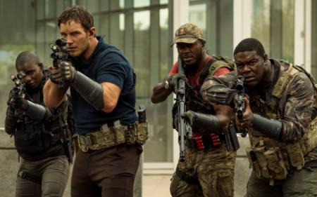 The Tomorrow War (Amazon prime science fiction film with Chris Pratt).