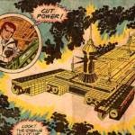 When Jack Kirby did the comic-book for the Black Hole movie (video).