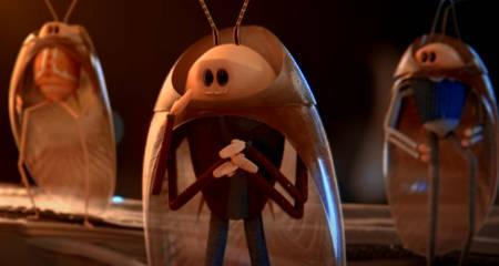 Rocket Roaches (animated short scifi film: in full).