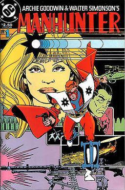 Manhunter (comic-book retrospective).