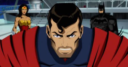 Injustice (animated Superman movie: trailer).