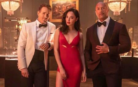 Red Notice (new Netflix cri-fi movie: trailer).