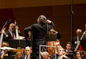 Muti conducting the Chicago Symphony