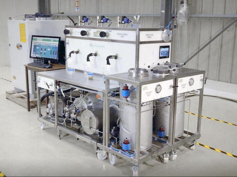 SFE Prod hemp cbd thc extraction system efficient supercritical co2 - sfe process