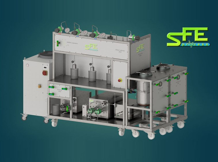 SFE Process SFE Prod for production 3d