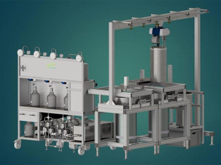 SFE Prod 2X100L supercritical extraction - sfeprocess
